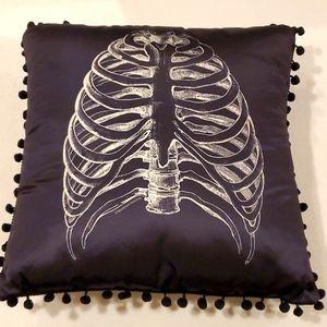 Sourpuss Ribcage Pillow
